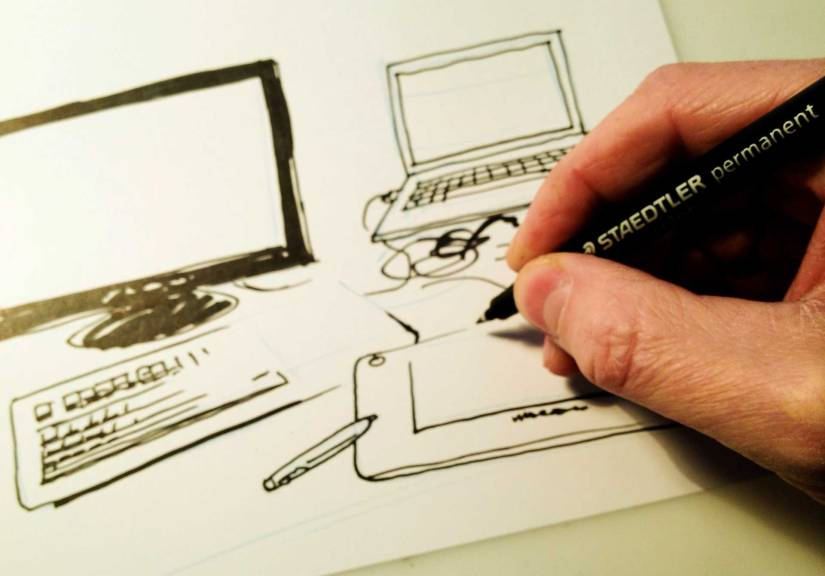 digital-vs-paper-drawing